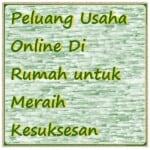 peluang usaha online di rumah